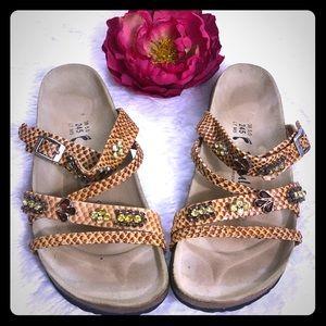 Betula By Birkenstock Rhinestone Sandals
